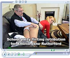School party flirting retribution for Amelia Jane Rutherford