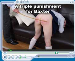 A triple punishment for Baxter