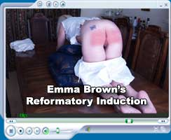 Emma Brown caned in the Victorian Reformatory