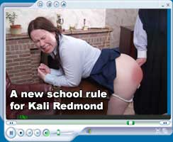 A new school rule for Kali Redmond
