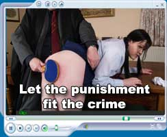 Let the punishment fit the crime
