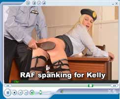 RAF spanking for Kelly