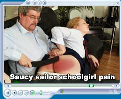 saucy sailor schoolgirl pain