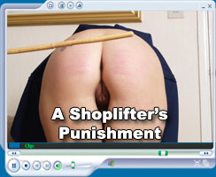 Emma brown - A shoplifter's punishment - at Hidefspanking.com