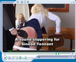 A sound slippering for Sinnead Tennant