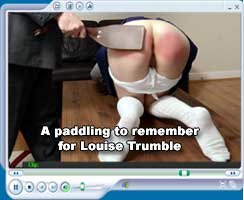 A paddling to remember for Louise Trumble
